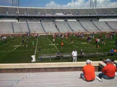 Scott Stadium, section: 127, row: M, seat: 9
