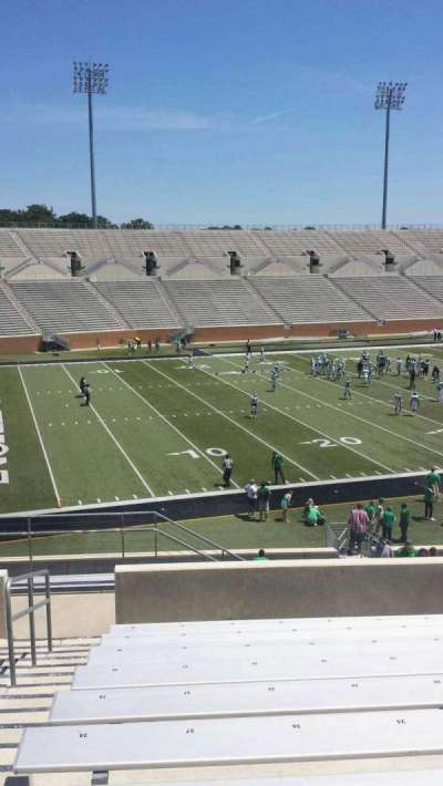 Apogee Stadium, section: 211, row: 10, seat: 27