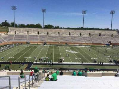 Apogee Stadium, section: 207, row: 21, seat: 27