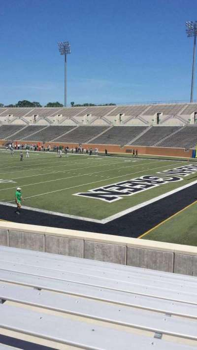 Apogee Stadium, section: 101, row: 13, seat: 1