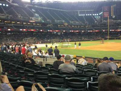 Chase Field, section: 114, row: 14, seat: 6