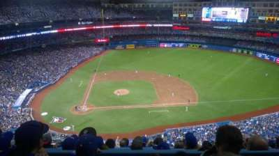 Rogers Centre, section: 520R, row: 15, seat: 10