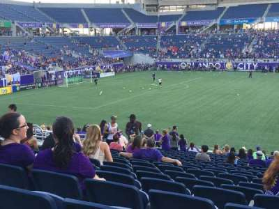 Camping World Stadium section 109