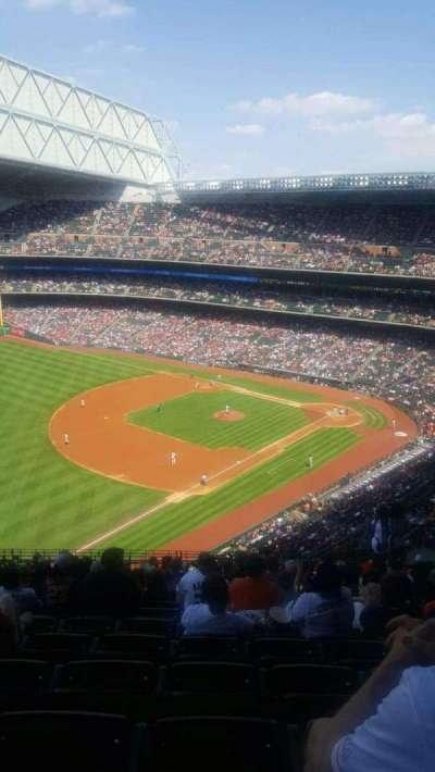 Minute Maid Park, section: 407, row: 11, seat: 15