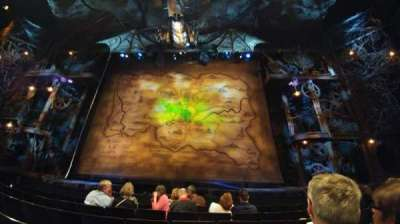 Gershwin Theatre, section: Orchestra C, row: B, seat: 113