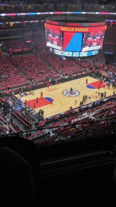Staples Center section 304