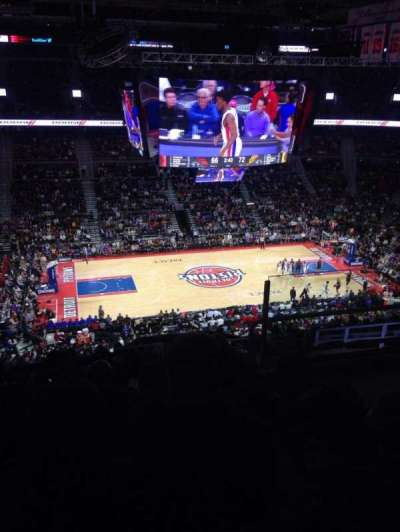 The Palace of Auburn Hills section 217