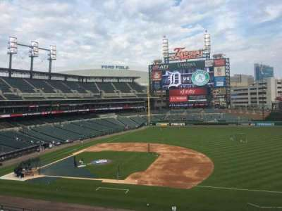 Comerica Park section 219