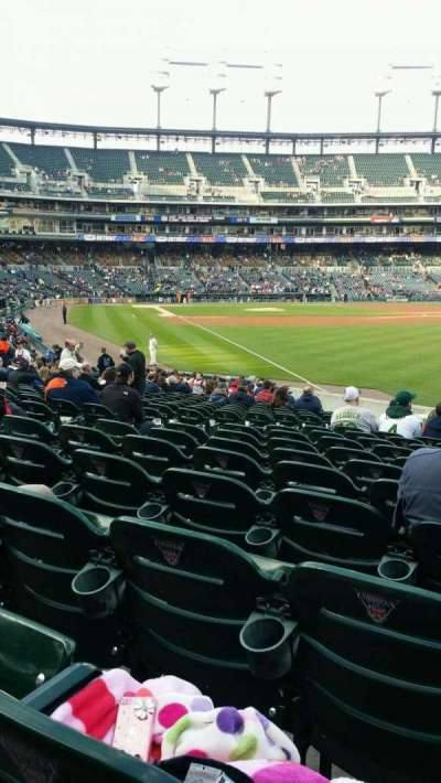 Comerica Park, section: 112, row: 28, seat: 15