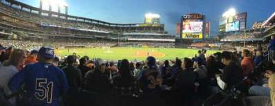 Citi Field, section: 113, row: 21, seat: 5