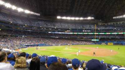 Rogers Centre, section: 114L, row: 30, seat: 107