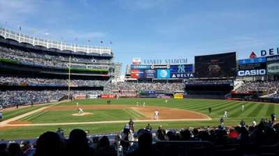Yankee Stadium, section: 117A, row: 14, seat: 1