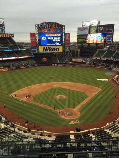 Citi Field, section: 515, row: 3, seat: 18
