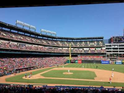 Globe Life Park in Arlington, section: 33, row: 32, seat: 3