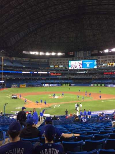 Rogers Centre, section: 120R, row: 32, seat: 2