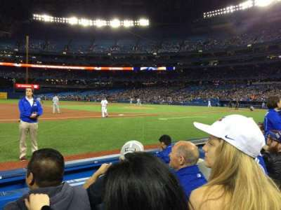 Rogers Centre, section: 128L, row: 3, seat: 108