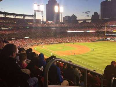 Busch Stadium, section: 234, row: 10, seat: 1