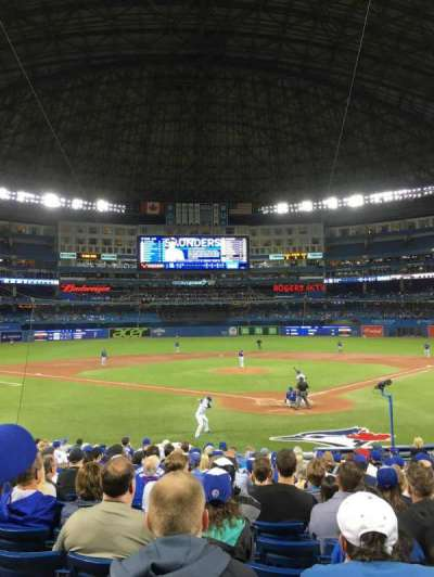Rogers Centre, section: 123r, row: 20, seat: 11