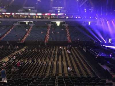 U.S. Bank Theater at Target Center, section: 130, row: M, seat: 7
