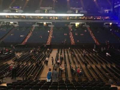 U.S. Bank Theater at Target Center, section: 131, row: M, seat: 7