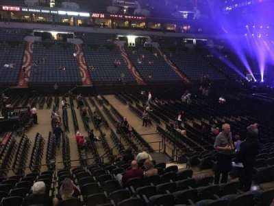 U.S. Bank Theater at Target Center, section: 132, row: M, seat: 7