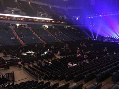 U.S. Bank Theater at Target Center, section: 136, row: M, seat: 7