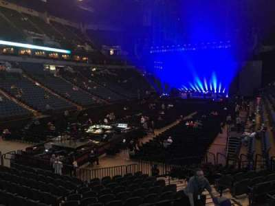U.S. Bank Theater at Target Center, section: 138, row: M, seat: 7