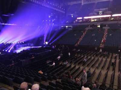 U.S. Bank Theater at Target Center, section: 111, row: M, seat: 7