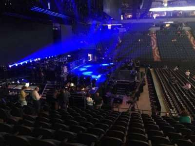 U.S. Bank Theater at Target Center, section: 113, row: M, seat: 7