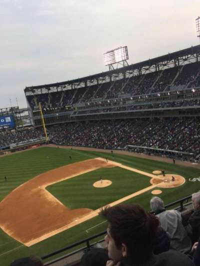 Guaranteed Rate Field, section: 542, row: 4, seat: 10