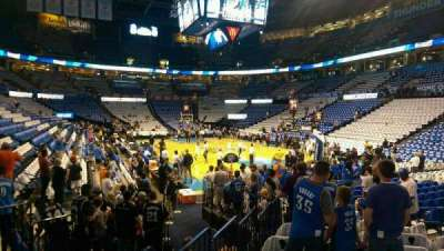 Chesapeake Energy Arena section 112