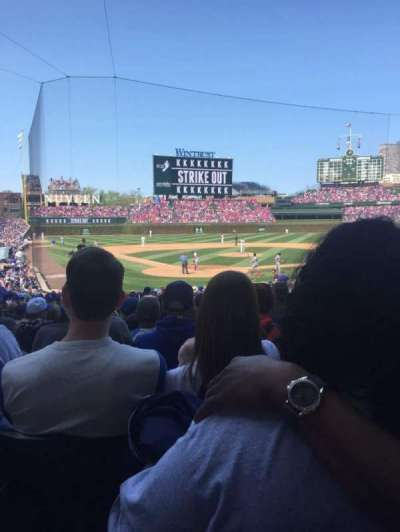 Wrigley Field, section: 123, row: 12, seat: 105