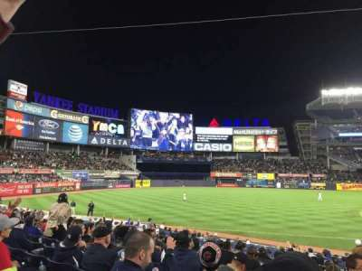 Yankee Stadium, section: 127b, row: 9, seat: 4