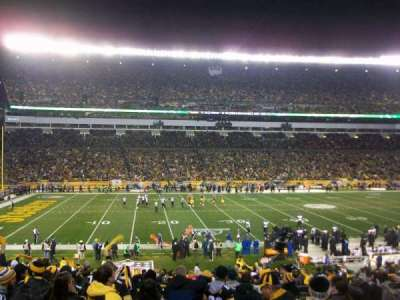 Heinz Field section 108