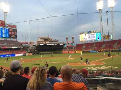 Great American Ball Park, section: 121, row: U, seat: 1