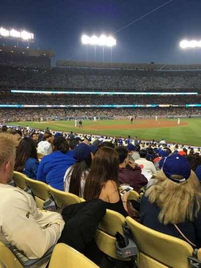 Dodger Stadium, section: FD42, row: O, seat: 8