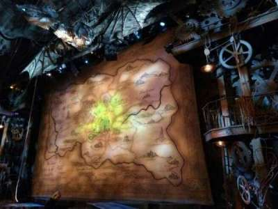 Gershwin Theatre, row: D, seat: 10