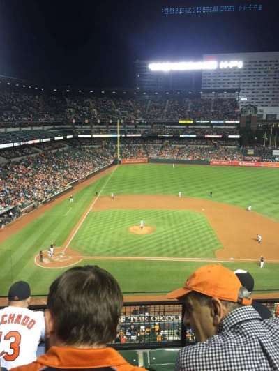 Oriole Park at Camden Yards, section: 324, row: 4, seat: 17