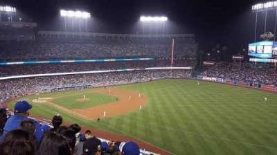 Dodger Stadium, section: 40RS, row: J, seat: 17