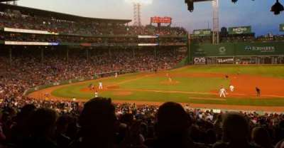 Fenway Park, section: Grandstand 15, row: 11, seat: 8