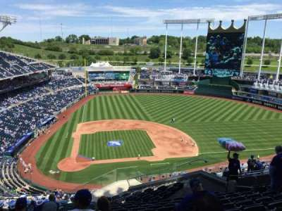 Kauffman Stadium, section: 427, row: LL, seat: 16