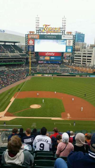 Comerica Park, section: 323, row: 11, seat: 21