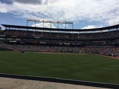 Oriole Park at Camden Yards section 78