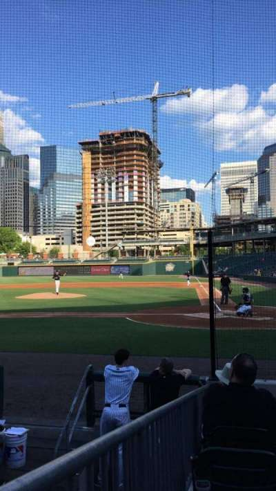 BB&T Ballpark (Charlotte), section: 113, row: K, seat: 10