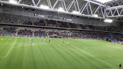 Tele2 Arena, section: B306, row: 4, seat: 245