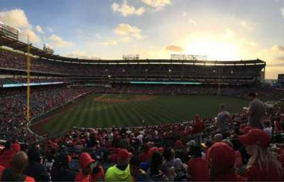Angel Stadium, section: P244, row: H, seat: 8