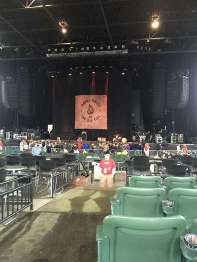 KeyBank Pavilion, section: 6, row: J, seat: 14