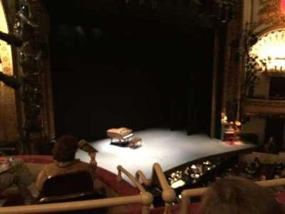 Palace Theatre (Broadway), section: Mezzanine, row: A, seat: 23