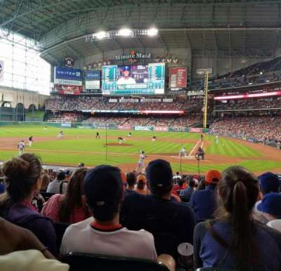 Minute Maid Park, section: 116, row: 22, seat: 18