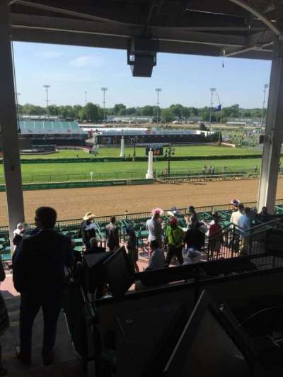 Churchill Downs, section: 317, row: h, seat: 8